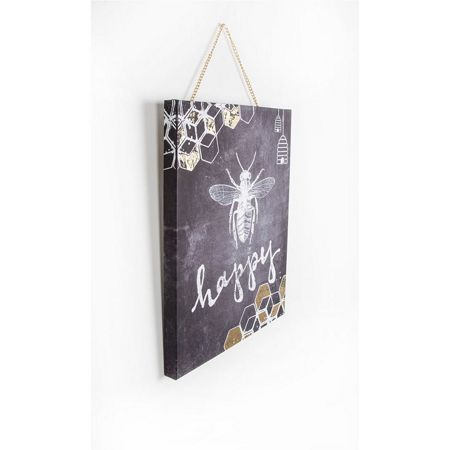 Graham & Brown Bee Happy Printed Canvas