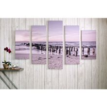 Graham & Brown Tranquil Seascape Printed Canvas