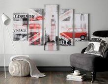 Graham & Brown Union Montage 5 Printed Canvas