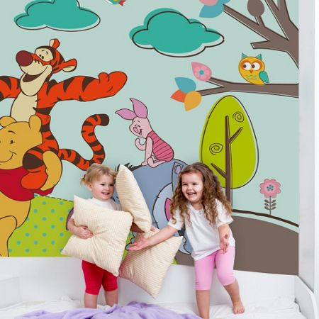 Graham & Brown Winnie the Pooh Digital Mural