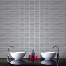 Graham & Brown Grey Shimmer Rimini Tile  Wallpaper