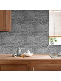 Grey New Brick Wallpaper