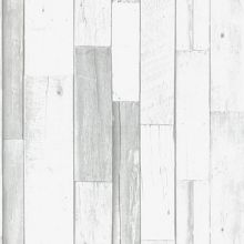 Graham & Brown Wood Panel Effect Grey Wallpaper