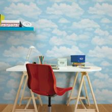 Graham & Brown Blue Cloud Nine Wallpaper