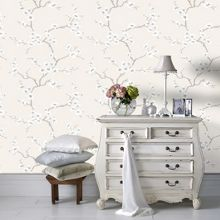 Graham & Brown Cream Chinese Blossom Tree Wallpaper