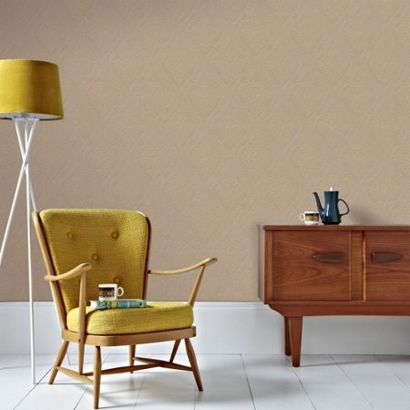 Graham & Brown Gold Savannah Wallpaper