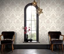Graham & Brown Beige Oxford Wallpaper