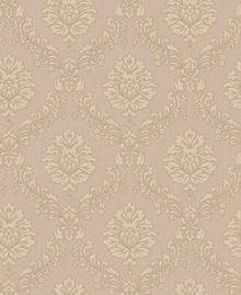 Graham & Brown Beige Jacquard Wallpaper