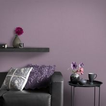 Graham & Brown Purple Organza Wallpaper