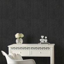 Graham & Brown Black Organza Wallpaper