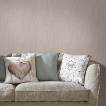 Graham & Brown Latte Crushed Silk Wallpaper