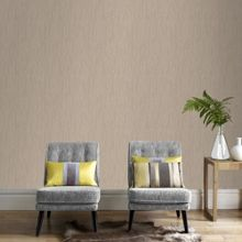 Graham & Brown Gold Crushed Silk Wallpaper
