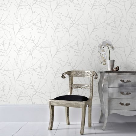 Graham & Brown Mica Innocence Wallpaper
