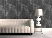 Graham & Brown Charcoal / Silver Eternal Wallpaper