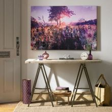 Graham & Brown Purple Landscape Canvas