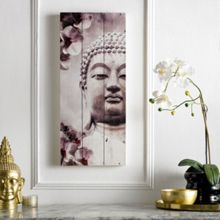 Buddha Print On Wood
