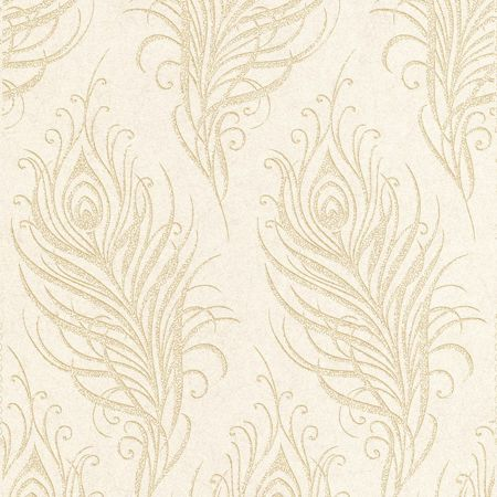 Graham & Brown Oyster Quill Wallpaper
