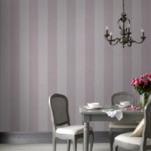 Mulberry Artisan Stripe Wallpaper