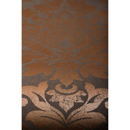 Graham & Brown Copper Gloriana Wallpaper
