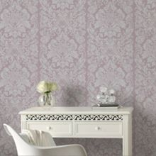 Graham & Brown Mulberry Purple Gloriana Wallpaper