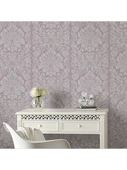 Mulberry Purple Gloriana Wallpaper