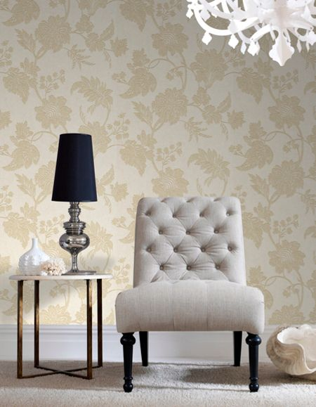 Graham & Brown Oyster Mystique Wallpaper