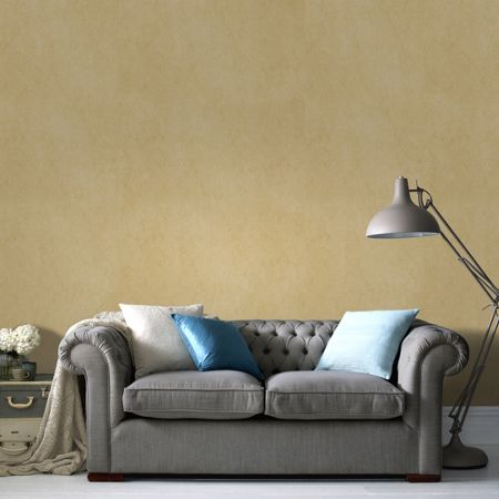 Graham & Brown Gold Tranquil Wallpaper