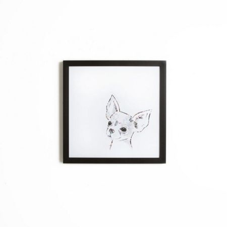 Graham & Brown Pickle the Chihuahua Framed Print