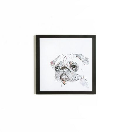 Graham & Brown Humphry the Pug Framed Print