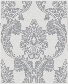 Graham & Brown Grey Regent Wallpaper