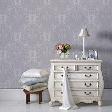 Graham & Brown Lilac Melody Wallpaper