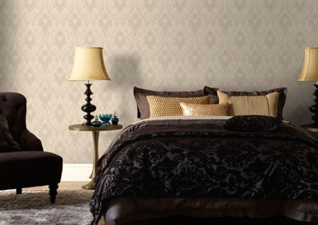 Graham & Brown Neutral Royale Wallpaper