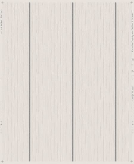 Graham & Brown Grey / Silver Stria Stripe Wallpaper