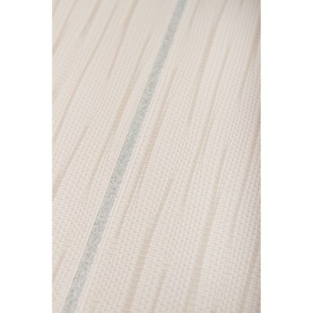 Graham & Brown Lilac / White Stria Stripe Wallpaper
