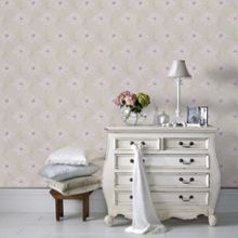 Graham & Brown Beige Sofia Wallpaper