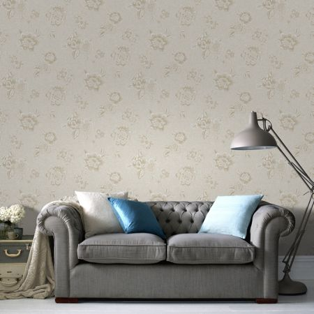 Graham & Brown Ivory Boutique Wallpaper