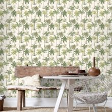 Graham & Brown Green Palm Tree Wallpaper
