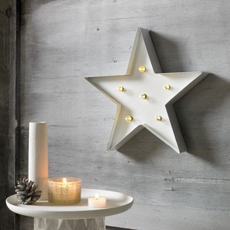 Graham & Brown White Light Star Art