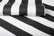 Graham & Brown Black & White Monochrome Striped Wallpaper