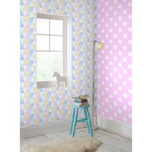 Graham & Brown Pink Dotty Polkadot Wallpaper