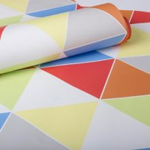 Graham & Brown Bright Multi coloured Harlequin Wallpaper