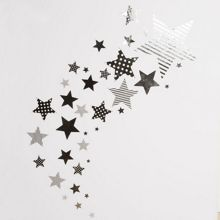 Graham & Brown Kids silver star stickers