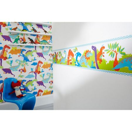 Graham & Brown Kids Dinoroar Multi Wall Border