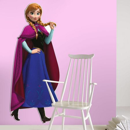 Disney Frozen Anna lifesize sticker