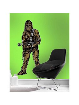 Chewbacca lifesize sticker