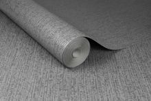 Graham & Brown Matrix Charcoal Grey Textured Plain Wallpaper