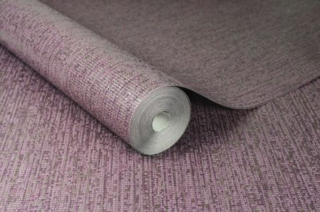 Graham & Brown Matrix Purple Textured Plain Wallpaper