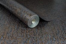 Graham & Brown Matrix Black & Bronze Textured Plain Wallpaper