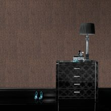 Graham & Brown Chocolate & Bronze Textured Plain Wallpaper
