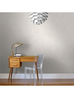 Rio Off White Neutral Plain Wallpaper